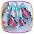 Vestido infantil Estampa Rosas Grandes e Aplique de Pérola - Imagem 3