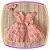 Vestido infantil com Renda e Tule - Cor: Rosê - Imagem 4