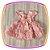 Vestido infantil com Renda e Tule - Cor: Rosê - Imagem 3