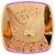 Conjunto infantil Blusa Estampada com Pérolas e Saia em Cetim  - Imagem 4