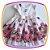 Vestido infantil Estampa de Rosas e Urso  - Imagem 1