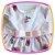 Vestido infantil Estampa de Rosas e Urso  - Imagem 2