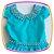 Vestido infantil Corpo Liso e Saia com Estampa de Fazenda e Moinho - Imagem 2