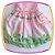 Vestido infantil Corpo Liso e Saia com Estampa de Fazenda e Moinho - Imagem 3