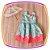Vestido infantil Estampa de Doces  - Imagem 1