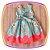 Vestido infantil Estampa de Doces  - Imagem 3