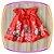 Vestido infantil Estampa de Flores no Barrado e Laço com Pedras  - Imagem 3