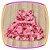 Vestido infantil  Estampa de Flores e Aplique de Flor no Ombro  - Imagem 3