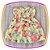 Vestido infantil Estampa Flores Rosas e Brancas - Imagem 2