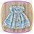 Vestido infantil Estampa de Margaridas Brancas - Imagem 2