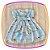 Vestido infantil Estampa de Margaridas Brancas - Imagem 3