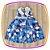 Vestido infantil Estampa de Bexigas - Imagem 2