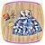 Vestido infantil Estampa de Bexigas - Imagem 1