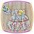 Vestido infantil Estampas Moinho, Torre Eiffel e Bicicletas - Imagem 1