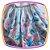 Vestido infantil Corpo Listrado e Saia com Estampa de Chá e Cup Cake - Imagem 3