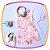 Jardineira infantil Estampada e Blusa em Cotton  - Imagem 5