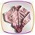 Conjunto infantil camisa em body e saia floral  - Imagem 3