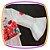 Blusa em Cotton com Sobreposição em Neoprene e Manga e Shorts Saia - vinho - Imagem 3