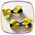 Bico de Pato com cores do Brasil - par - Imagem 2
