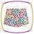 Conjunto infantil de Blusa estampa sapatos e borboleta e shorts em sarja  estampa borboletas - Imagem 3