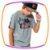 Camiseta infantil LIKE AND SHARE - Imagem 1