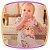 Vestido para bebê em Malha Crepe estampa cachorro e gato e calcinha em tricoline - Imagem 4