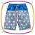 Conjunto infantil regata meia malha e bermuda em nylon azul - COST CALIFORNIA - Imagem 3