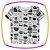 Conjunto para bebê camiseta em suedine estampada, bermuda em moleton preta e lenço meia malha - Imagem 2