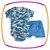Body para bebê em suedine manga curta, estampa camuflada e  shorts em malha - Imagem 1