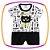 Macacão para bebê curto em suedine heróis com estampa neon - Imagem 1
