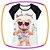 Conjunto infantil Blusa em Viscolycra Estampa Urso de óculos e Shorts Saia em fly tech  - Imagem 2