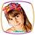 Faixa Infantil estampa Borboleta  - Imagem 2