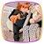 Conjunto para bebê Blusão e Calça em Motecotton glitter preto - Imagem 4