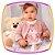 Conjunto para bebê blusão em molecotton Urso e legging em malha termica - Imagem 4