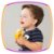 Macacão para bebê em meia malha listrado fio tinto batonê - Little Boy - Imagem 3