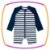Macacão para piscina para bebê em malha UV dry com proteção UV 50+ - Imagem 1