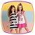 Vestido infantil em Fly Tech estampa borboletas e listras preto e branco - Imagem 3