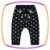 Conjunto para bebê com body em suedine (MOMMU IS MY BESTIE) e legging em cotton poá e estampa no bumbum - Imagem 5