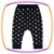 Conjunto para bebê com body em suedine (MOMMU IS MY BESTIE) e legging em cotton poá e estampa no bumbum - Imagem 4
