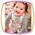 Conjunto para bebe Body em suedine e Jardineira estampa COELHO - Imagem 2