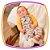 Conjunto para bebe Body em suedine  e Jardineira estampa COELHO - Imagem 3