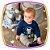 Conjunto para bebe Body em suedine estampa SPACE DOG e calça em moletinho  - Imagem 2