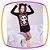 Camisola infantil em meia malha estampa Panda com gorro  - Imagem 3