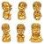 Conjunto Buda Baby com 6 Modelos (Dourado) - Imagem 1