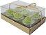 Vela Aromática com 6 unidades (Limão) - Imagem 2