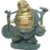 Buda da Prosperidade e Felicidade em Resina (20cm) - Imagem 1