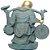 Buda da Prosperidade e Felicidade em Resina (20cm) - Imagem 3