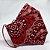 Máscara 3D de Bandana Vermelha Tradicional - Tripla Camada - Imagem 2
