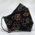 Máscara 3D Preta do Mickey Mouse - Tripla Camada - Imagem 2