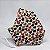 Máscara 3D Infantil de Corações Coloridos e Dourados - Imagem 1
